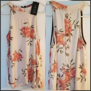 Anthropologie W5 Floral Top